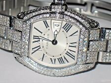 Womens Cartier Roadster Diamonds Everywhere