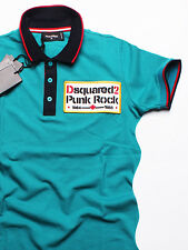 New DSQUARED POLO T-shirt LOGO  SLIM FIT!!!!!!!  Size- 3XL