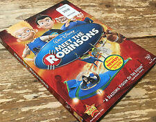 Meet the Robinsons DVD 2007 Walt Disney Animated Cartoon Future