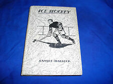 ice hockey book 1931 alexander sayles gerard hallock 3 how to play understand