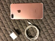 Apple iPhone 7 Plus - 128GB Rose Gold (Unlocked) Smartphone with Otter box case
