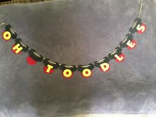 """Mickey Mouse """"OH TOODLES"""" Banner.Great For Birthday Parties"""