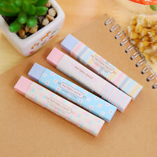 Stationery Supplies Lovely Cartoon Writing Pencil Erasers For Office School New
