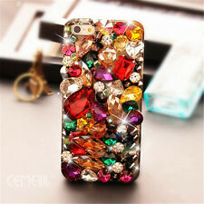 Glitter Luxury Crystal Bling Rhinestone Diamonds Soft TPU Gel Case Cover BO-8