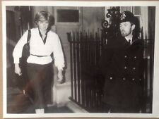 PRINCESS LADY DIANA PRESS PHOTO LEAVING HER FLAT 1981 Engagement Police Escort