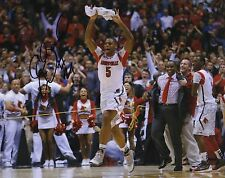 CHANE BEHANAN SIGNED LOUISVILLE CARDINALS NATIONAL CHAMPIONS 8X10 PHOTO w/COA