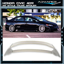 Mugen RR 06-11 Honda Civic Sedan FD2 JDM MU MUG ABS Trunk Spoiler Wing