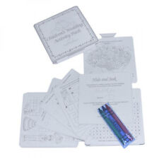 Children's Kids Wedding Activity Colouring Pack Set Wedding Favour