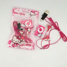 Hello kitty mp3 players+Hello kitty earphone  & cable+ Hello kitty bag