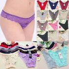 10Pc Lot Wholesale Women Sexy Lace Panties Briefs Knickers Lingerie Underwear HG