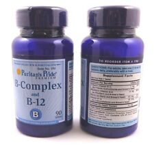 2X Vitamin B-Complex  B-12 180 Tablets Health Energy Skin Hair Anxiety Stress