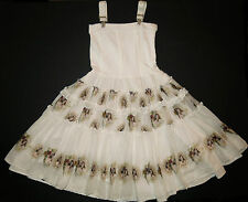 Boutique Jottum Dutch Sascha Sushi suspender dress vintage cameo 140/128 8 9 10
