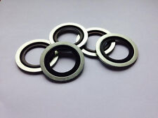 Bonded Seal Oil Sump Washer (x5) - 233 - Vauxhall, Fiat + More!
