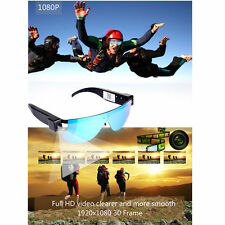 Wireless HD 1080P Camcorder Sports DVR DV Sunglasses Video Cam WIFI IP P2P Cam