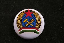 "Hungary State Protection Authority Police ÁVH NKVD 1"" Badge Pin Made in USA KGB"