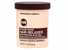 TCB No Base Hair Relaxer Creme, Super, 7.5 Ounce