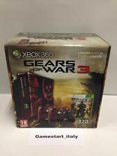 CONSOLE XBOX 360 GEARS OF WAR 3 LIMITED COLLECTOR'S EDITION - NUOVA NEW PAL