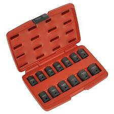 "Sealey Impact Socket Steel Tool Set 13pc 1/2""Square Drive Total Drive - AK5613TD"
