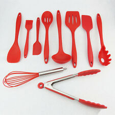 Red Silicone Kitchen Utensils - All You Need For The Kitchen