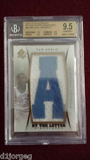 Michael Jordan 2012 SP Authentic By The Letter Patch Auto 9/23 BGS Gem Mt 9.5/10
