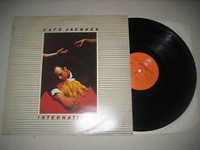 Cafe Jacques - International   Vinyl  LP unverkäufliches Muster