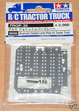 Tamiya 56535 Aluminum Coupler Lever Plate for Tractor Truck (Scania/MAN/Actros)