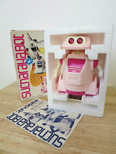 80s CRACKBOT ROBOT Tomy Japan Market Version 'SUCHARAKABOT' Plastic Space Toy