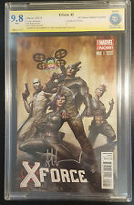 X-Force #2 (2014, Marvel) CBCS 9.8 NM/MT 1:50 Variant Cover Signed by Adi Granov