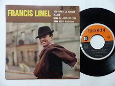 FRANCIS LINEL Hop dans la riviere ... 45 M 236 Orchestre JEAN LECCIA