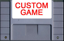 CUSTOM 2-8 Game Collection with personalized label (SNES,Super.Nintendo)