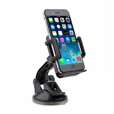 360 ° parabrezza universale in Car Mount Holder Cradle PER Smartphone GPS PDA IPOD