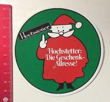 Aufkleber/Sticker: Hochstetter - Die Geschenk Adresse (310416175)