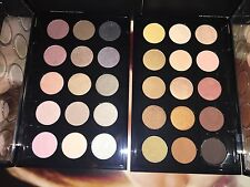 2 MAC X 15 eyeshadow palettes! WARM & COOL Neutral NIB!