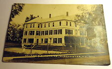 Sepa Tone Photo Postcard Shipman's Tavern Winchester New Hampshire Early 1900's