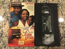 THE PIANO LESSON OOP VHS 1995 CHARLES DUTTON PIANO FAMILY HEIRLOOM FROM SLAVERY
