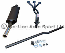 "Classic Mini LCB & Single Box 1.75"" Big Bore Centre Exit Exhaust System"