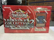 Yu-Gi-Oh Legendary Collection 2 Box CCG TCG Sealed with gods and Booster packs