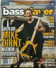 Bass Player Dec 2016 Green Day Mike Dirnt Maximum Overdrive FREE SHIPPING sb