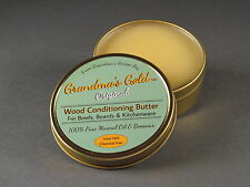 Mineral Oil and Beeswax Wood Conditioner for Boards, Bowls and Kitchenware