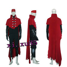 Vincent Valentine Cosplay Final Fantasy Costume Any Size Custom Free Shipping