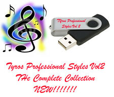 New yamaha usb tyros 2,3,4,5 professional styles et midi's vol 2 look!!!
