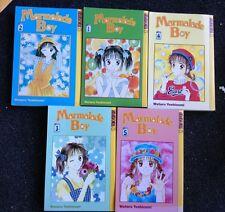 Marmalade Boy Volumes 1-5 Comic Books Tokyopop Manga PBs Wataru Yoshizumi