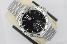 Tag Heuer NEW WAU1112.BA0858 Black Formula One F1 Watch Mens Chronograph BOX