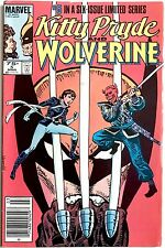 Kitty Pryde & Wolverine #5 Marvel Comics Limited Series X-Men 1984