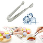 Stainless Steel Cube SugarFood Salad Tongs Ice Coffee Bar Buffet Kitchen Spoon@