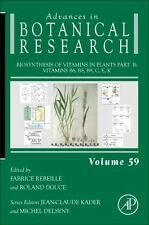 Advances in Botanical Research: Biosynthesis of Vitamins in Plants Pt. B :...