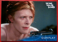 DAVID BOWIE - The Man Who Fell To Earth - Card #39 - Gunplay - Unstoppable
