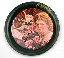 Coca-Cola Coke USA Tôle Métal Dessous de verre Coaster - cola Fille Motif 4