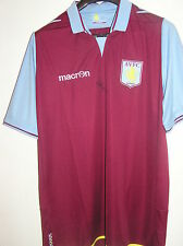 1982 European Cup Winner Des Bremner Signed New Aston Villa 2012/13 Home Shirt