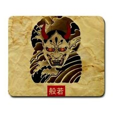 Oni Mask Distressed Art Mouse Pad MP571